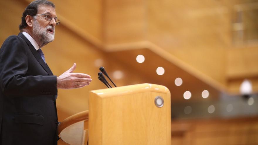 """Rajoy reúne al Consejo de Ministros para """"reaccionar"""" al """"acto delictivo"""" de declarar la independencia"""