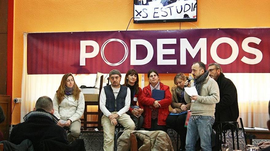 Reunión de Entre Tots Podem en Torrent (Valencia).