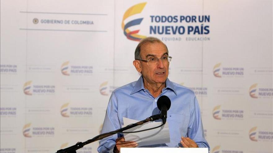 El Gobierno colombiano pide a las FARC sacar a los menores que están en sus filas