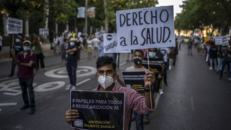 Manifestación en defensa de la Sanidad pública / Olmo Calvo