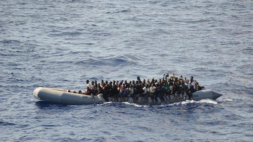 Fragata española rescata en dos meses 1.898 inmigrantes en el Mediterráneo