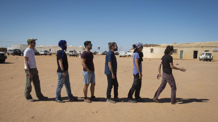 Vetusta Morla en los campamentos de refugiados saharauis durante el FiSáhara | Sergio R. Moreno / Gtres