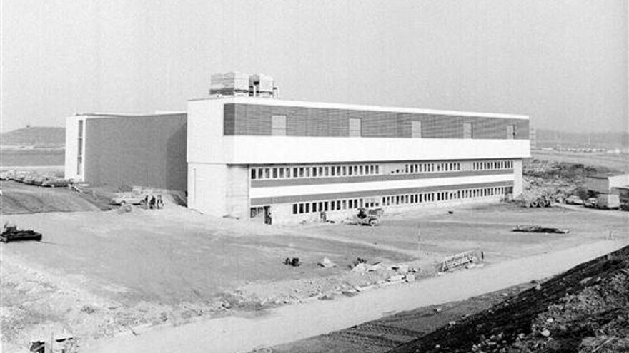El edificio 513 donde se ubicaría el centro de datos en 1972