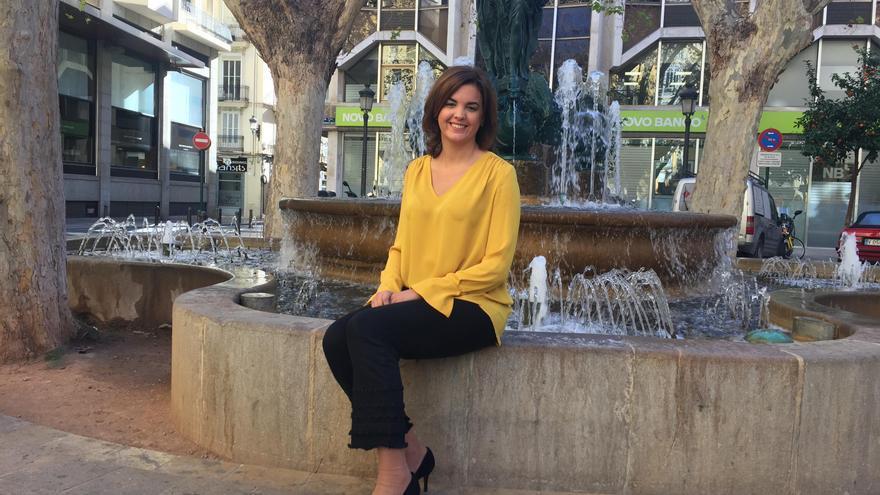La candidata a secretaria general del PSPV en la ciudad de València, Sandra Gómez