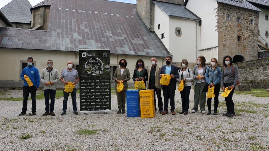 """Presentación del proyecto """"Camino del reciclaje""""."""