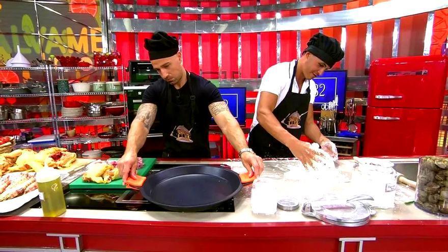 Rafa Mora y Kiko Jiménez compartieron cocina