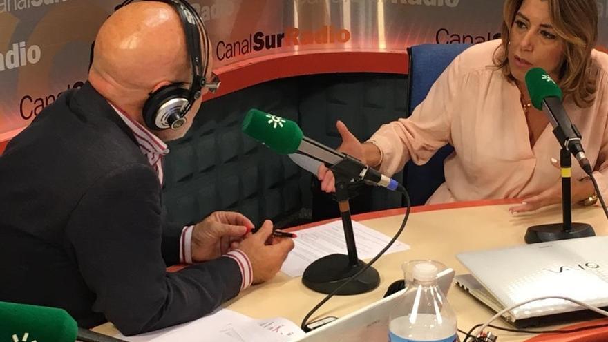 """Susana Díaz afirma que Aguirre se tiene que """"marchar"""" tras crisis sanitaria y reprocha a Moreno haber estado """"escondido"""""""
