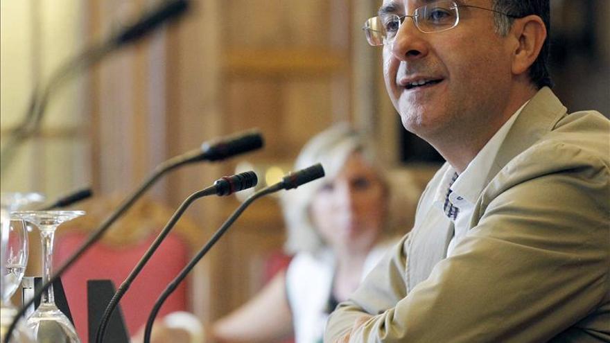 El portavoz de la Comisión de Cultura del Congreso de los Diputados, Juan de Dios Ruano | EFE