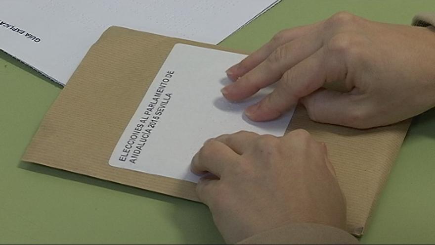 Voto accesible en las Autonómicas