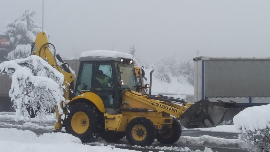 Precaución por nieve en puertos alaveses de Herrera, Bernedo, Azazeta, Vitoria, Kurtzeta, Opakua y Orduña