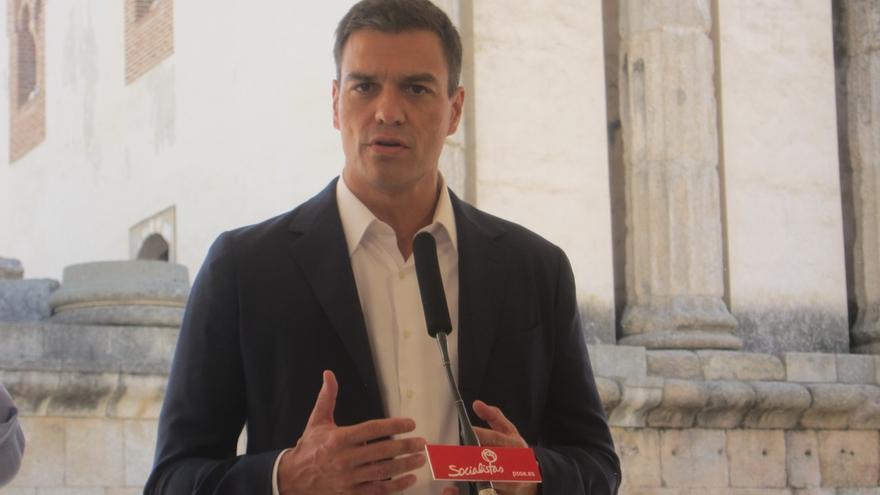 """Pedro Sánchez exige una """"respuesta contundente"""" al Gobierno para """"frenar de una vez"""" una tasa """"inaguantable"""""""