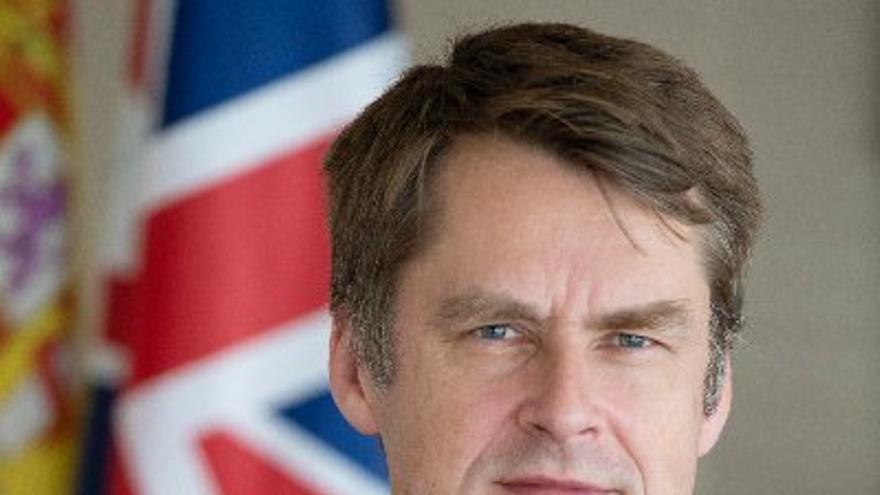 Hugh Elliot, embajador del Reino Unido en España.