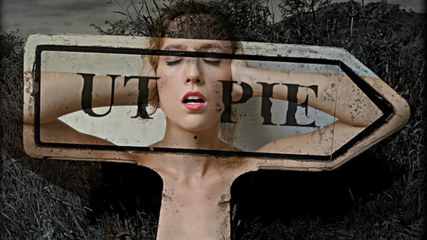 Una de las fotografías de María Alba en la muestra 'Utopía'