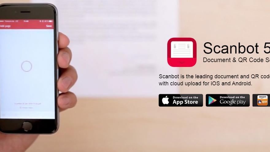 Hay muchas aplicaciones que permiten escanear documentos y los convierten en PDF