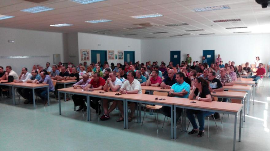 Asamblea de trabajadores de Elcogas