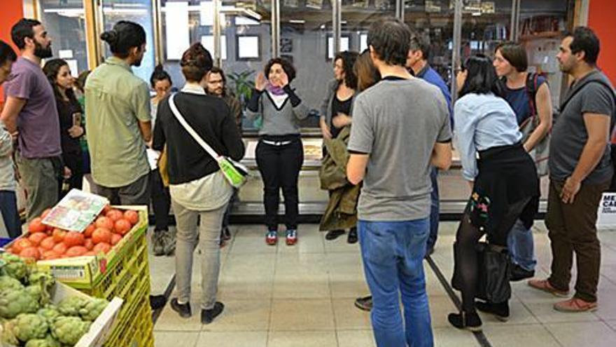 Presentación del proyecto este diciembre en el Mercado de San Fernando. / Intermediae
