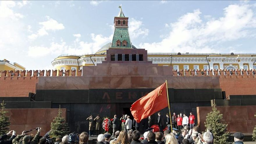 El mausoleo de Lenin abre al público tras ocho meses de reparaciones