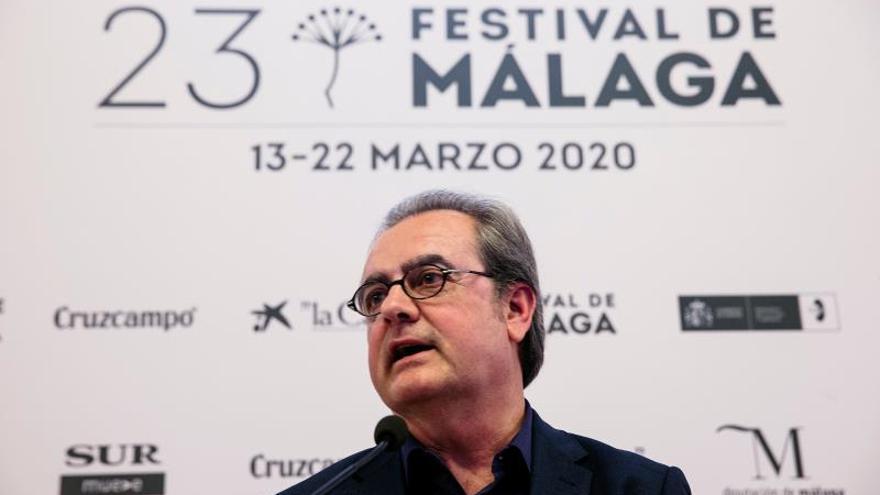 El director del Festival de Cine en Español de Málaga, Juan Antonio Vigar.