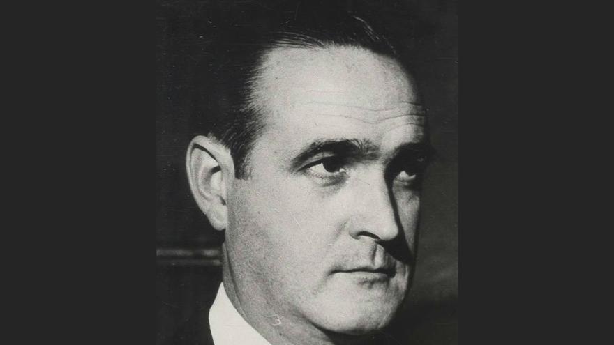 José María López de Letona, ministro de Industria de Franco