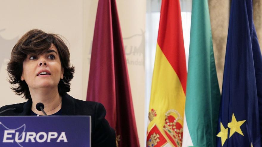 """Santamaría: el proceso soberanista ha sido """"un negocio"""" para algunos independentistas y la """"ruina"""" para Cataluña"""