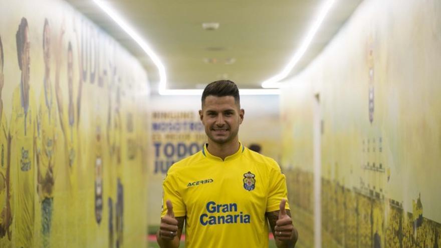 Vitolo, cuando vestía de amarillo.