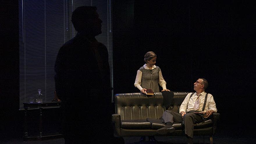 Una escena de la obra 'Perdición'