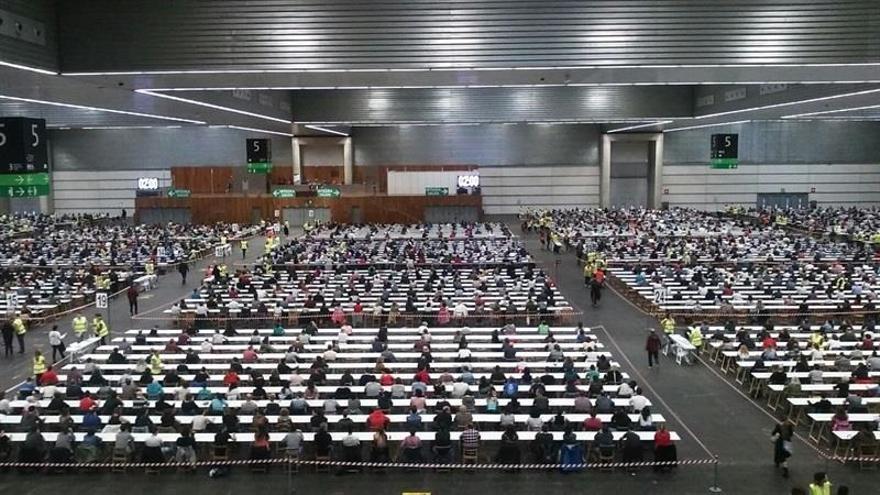 El 73,4% de los aspirantes a la OPE de Osakidetza del fin de semana aprueba los exámenes