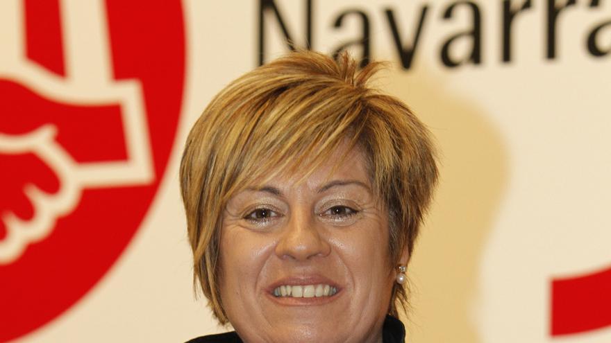 La secretaria de Igualdad y Política Social de UGT Navarra, Maite Pérez.