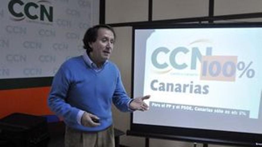 Benito Codina, portavoz federal del partido.