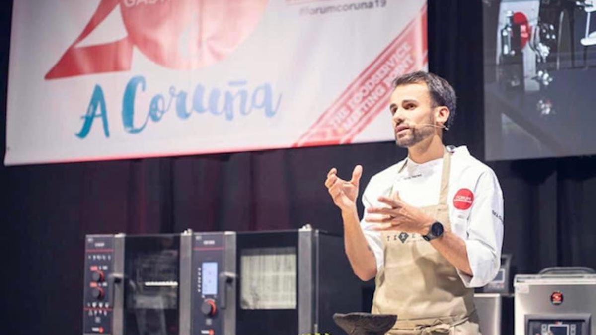 Borja Marrero en el Forum A Coruña