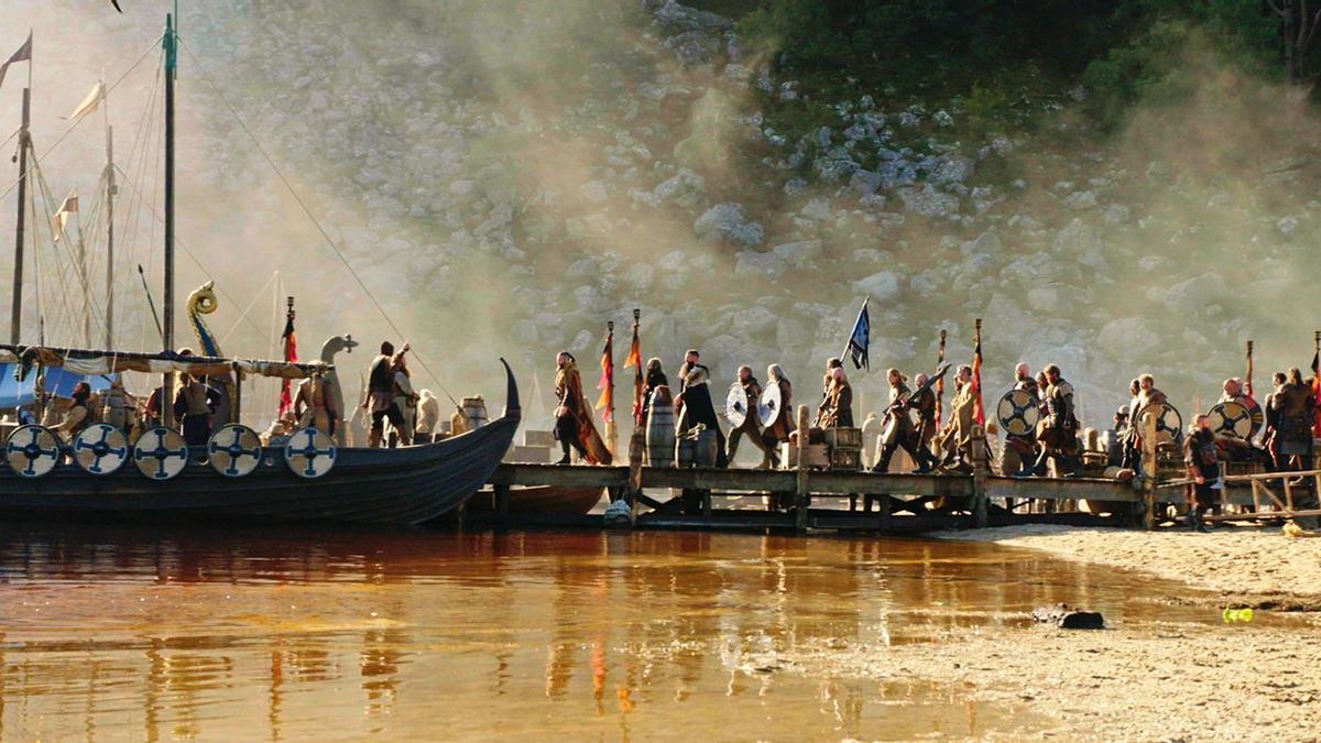 Imagen del rodaje de 'Vikings: Valhalla'