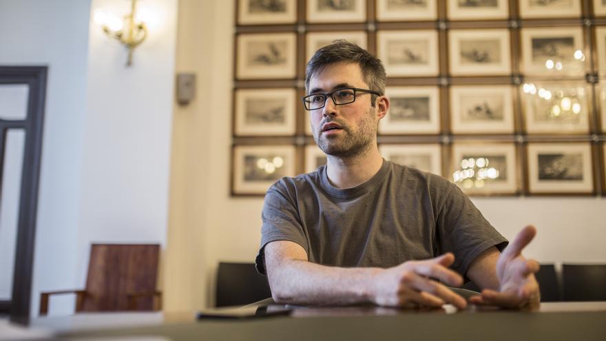 Mark Bray, autor del libro 'Antifa'.