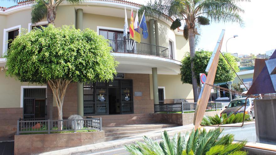 Sede del Ayuntamiento de San Juan de la Rambla, en Tenerife.