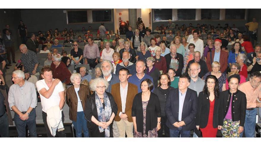 Acto con familiares de brigadistas en la Diputación de Albacete