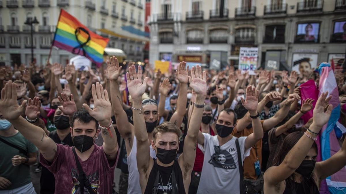 Concentración este domingo en la Puerta del Sol en repulsa por el asesinato de Samuel Luiz