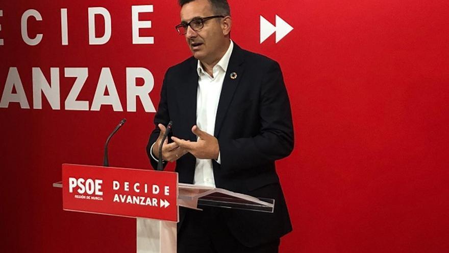 Diego Conesa, secretario general del PSRM-PSOE