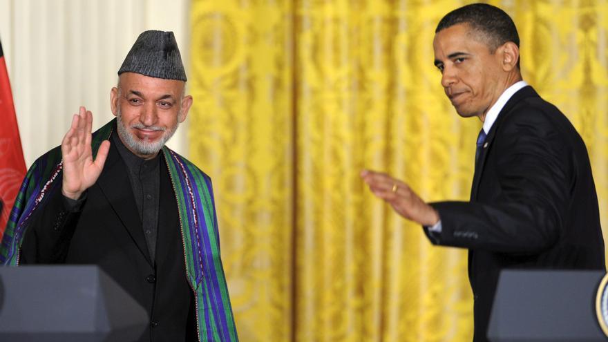 Obama y Karzai conversaron hoy sobre protestas y de la seguridad futura