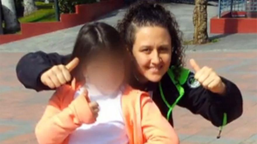 Susana Guerrero y su hija