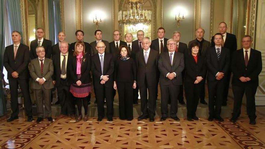 Constitución de la comisión de expertos en financiación autonómica