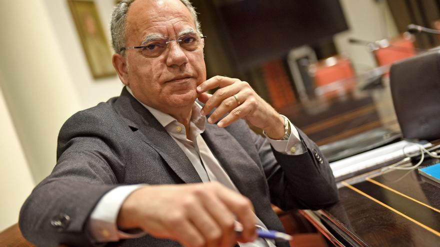 Casimiro Curbelo, presidente de la Agrupación Socialista Gomera
