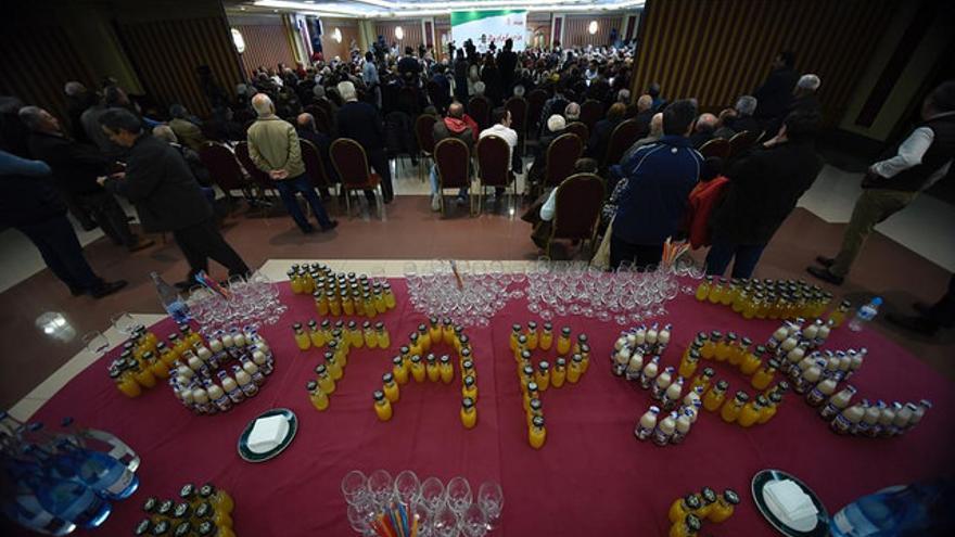 Susana Díaz ha dado un mitin electoral ante 400 personas mayores en el municipio de Martos (Jaén)