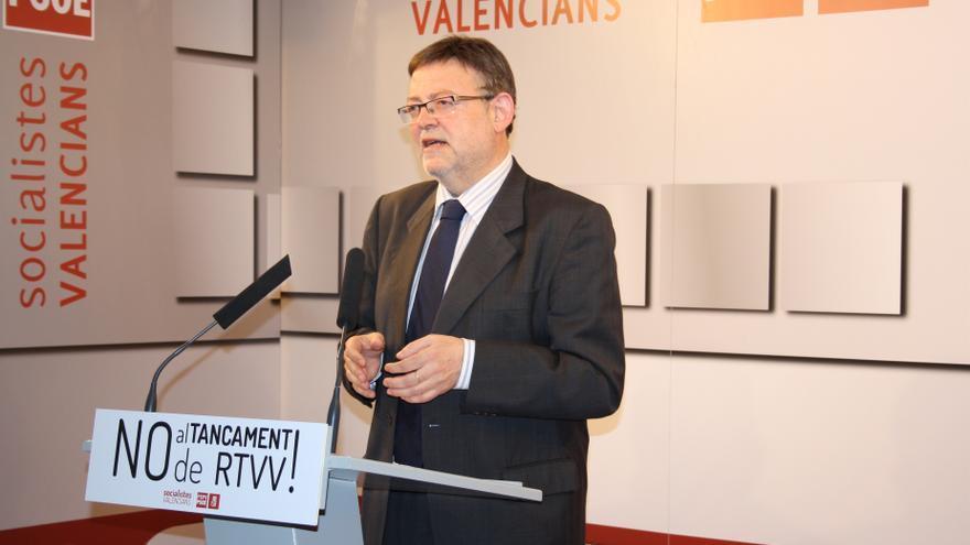 El PSPV exige la disolución de las Cortes y la convocatoria de elecciones anticipadas por el cierre