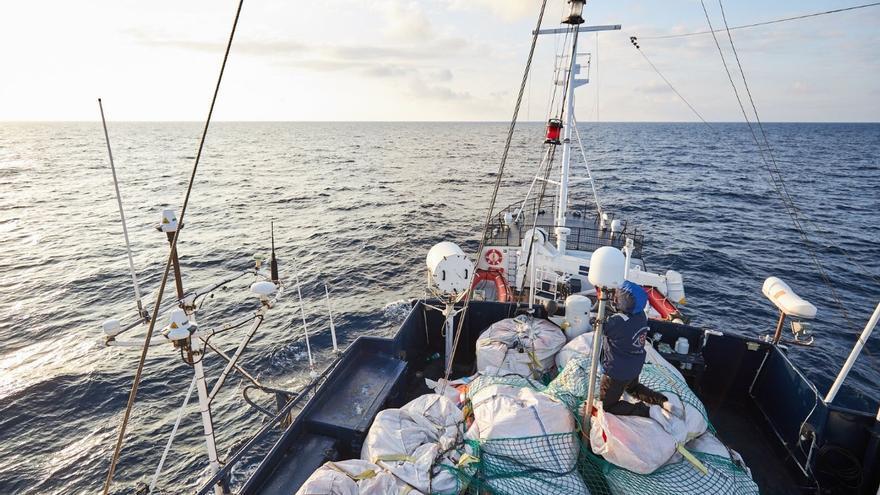 Imagen del Alan Kurdi, barco de la ONG Sea Eye.