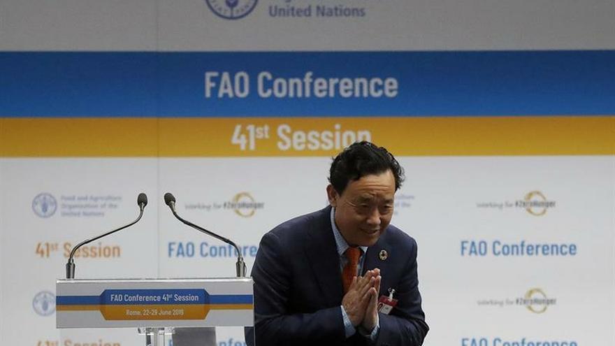 China vence a la UE en la elección para dirigir la FAO con ganas de cooperar