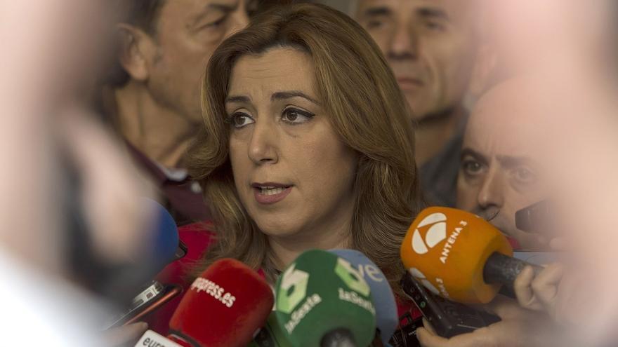 Susana Díaz subraya que el Gobierno del PP pierde y los ciudadanos ganan con el aval del TC a la subasta de medicamentos