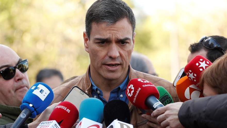 """Sánchez dice que el CIS muestra que el PSOE es """"la alternativa"""""""