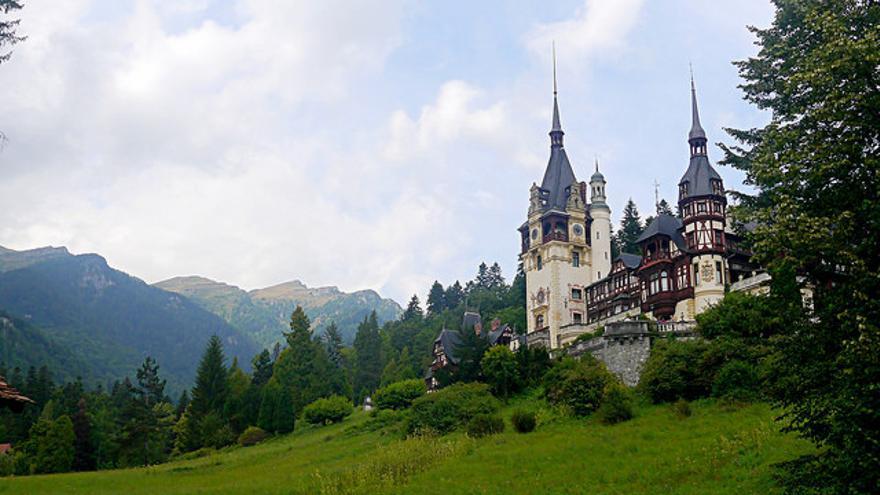 Castillo de Peles, uno de los iconos de la Transilvania rumana. Héctor Montero Sommerfelds