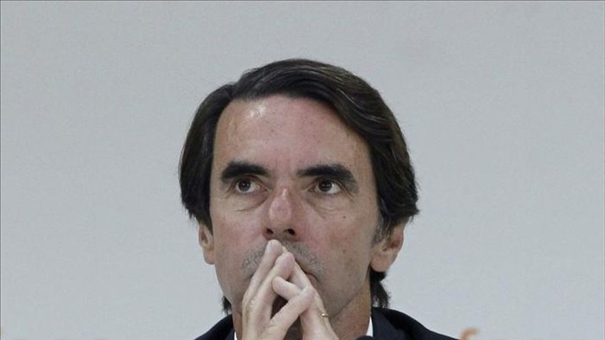 Aznar: Botín hizo del Santander referencia del talento empresarial de España