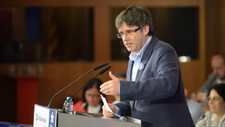 """Puigdemont: """"No habrá inhabilitaciones suficientes para parar la democracia"""""""
