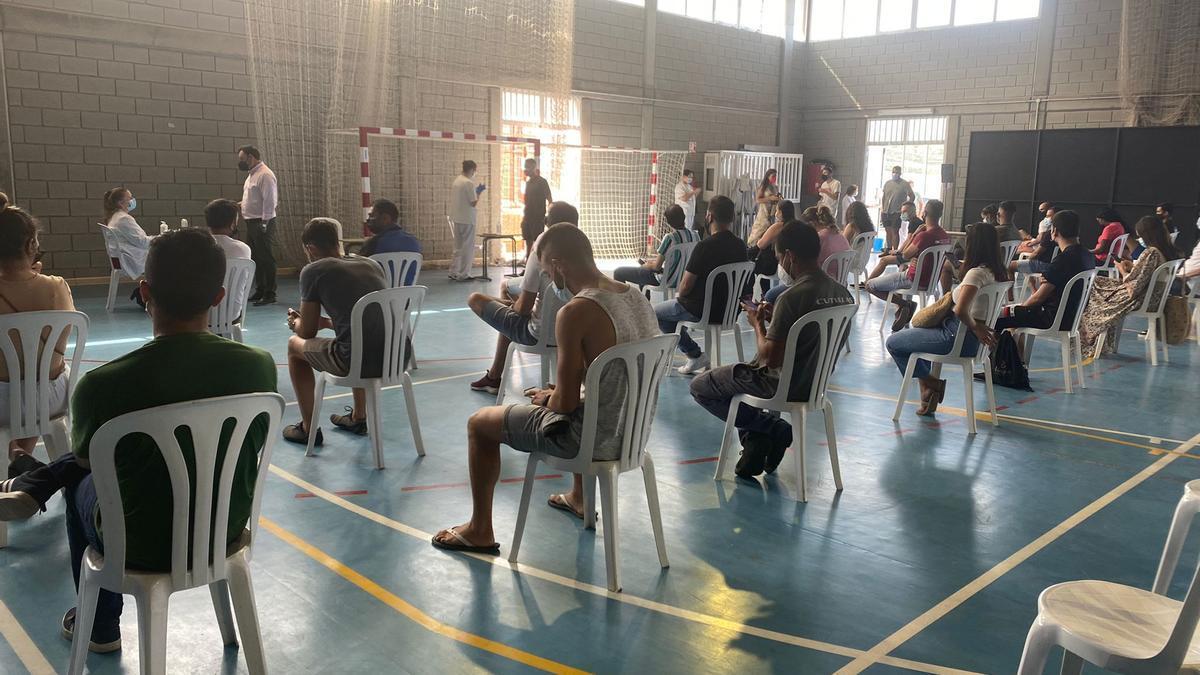 Vacunación contra la COVID en La Palma
